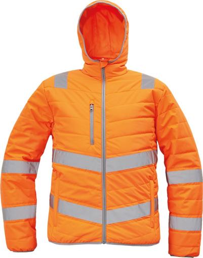 Obrázek z Cerva MONTROSE HV Reflexní zimní bunda oranžová