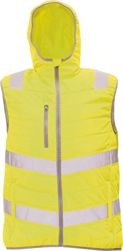 Obrázek z Cerva MONTROSE HV Reflexní zimní vesta žlutá