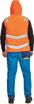 Obrázek z Cerva MONTROSE HV Reflexní zimní vesta oranžová