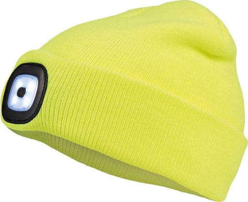 Obrázek z Cerva DEEL LED čepice s lampou žlutá