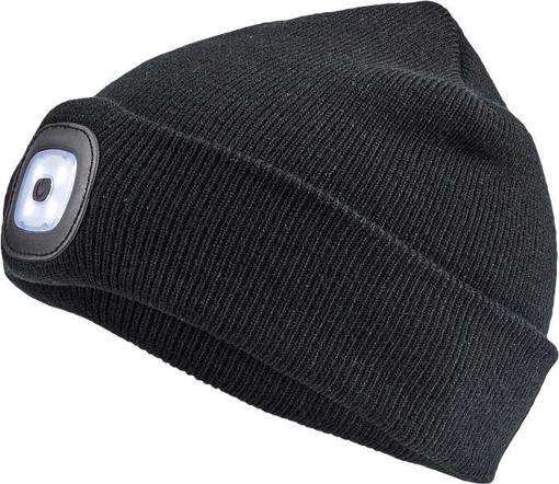 Obrázek z Cerva DEEL LED čepice s lampou černá