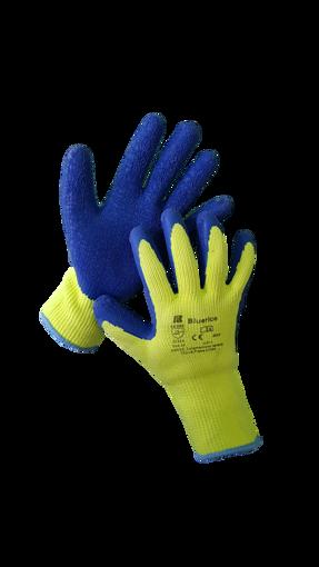Obrázek z BAN BLUERICO 03106 Zimní pletené rukavice s vrstvou latexu