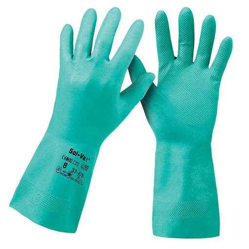 Obrázek z Ansell Sol-Vex 37-676 Pracovní rukavice