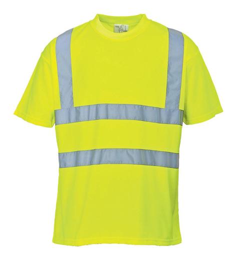 Obrázek z Portwest S478 HI-VIS Reflexní tričko žluté