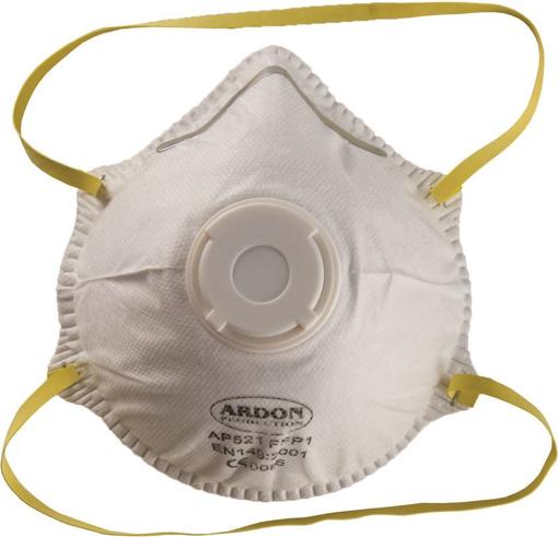 Obrázek z Ardon AP 521 FFP1 Respirátor s výdechovým ventilkem