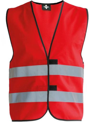 Obrázek z Korntex KW02 Reflexní vesta dětská red