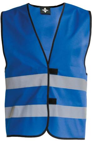 Obrázek z Korntex KW02 Reflexní vesta dětská blue