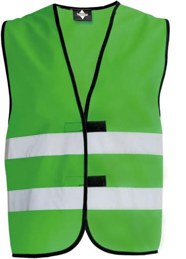 Obrázek z Korntex KW02 Reflexní vesta dětská green