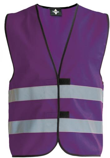 Obrázek z Korntex KW02 Reflexní vesta dětská violet