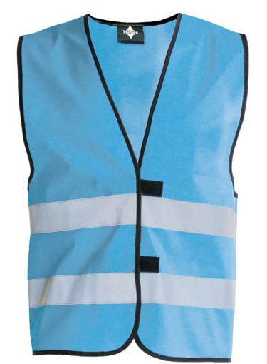 Obrázek z Korntex KW02 Reflexní vesta dětská sky blue