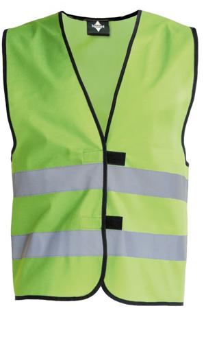 Obrázek z Korntex KW02 Reflexní vesta dětská lime green