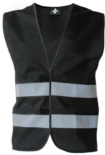 Obrázek z Korntex KXFW Reflexní vesta black