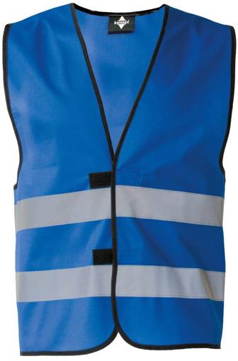 Obrázek z Korntex KXFW Reflexní vesta blue