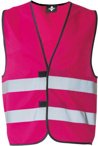 Obrázek z Korntex KXFW Reflexní vesta pink
