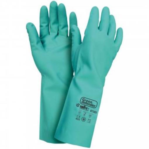 Obrázek z Industrial Starter Green Defender 07305 Pracovní rukavice
