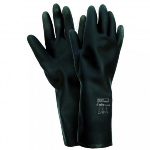 Obrázek z Industrial Starter Black Defender 07300 Pracovní rukavice