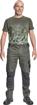 Obrázek z Cerva NEURUM CLASSIC Pracovní kalhoty do pasu olivová