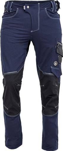 Obrázek z Cerva NEURUM PERFORMANCE Pracovní kalhoty do pasu navy