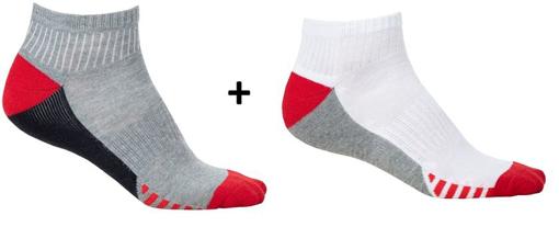 Obrázek z ARDON DUO RED Ponožky, 2 páry