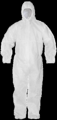 Obrázek z BOCORO Ochranný oblek bílý