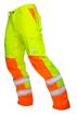 Obrázek z ARDON SIGNAL Pracovní kalhoty do pasu žluté zkrácené