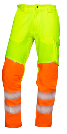 Obrázek z ARDON SIGNAL Pracovní kalhoty do pasu žluté prodloužené