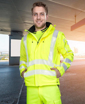 Obrázek z ARDON SIGNAL Reflexní softshellová bunda žlutá