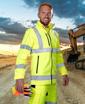 Obrázek z ARDON HI-VIZ Reflexní softshellová bunda žlutá