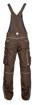 Obrázek z ARDON URBAN Pracovní kalhoty s laclem hnědé