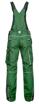Obrázek z ARDON URBAN Pracovní kalhoty s laclem zelené zkrácené