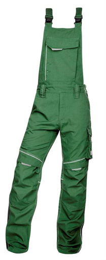 Obrázek z ARDON URBAN Pracovní kalhoty s laclem zelené prodloužené