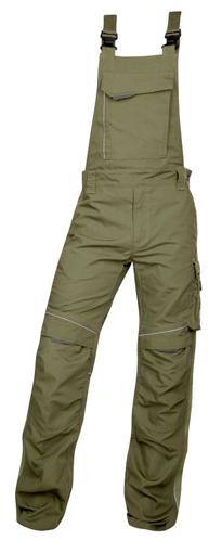 Obrázek z ARDON URBAN Pracovní kalhoty s laclem khaki zkrácené
