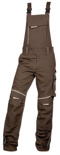Obrázek z ARDON URBAN Pracovní kalhoty s laclem hnědé prodloužené