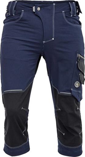 Obrázek z Cerva NEURUM PERFORMANCE Pracovní 3/4 kalhoty navy