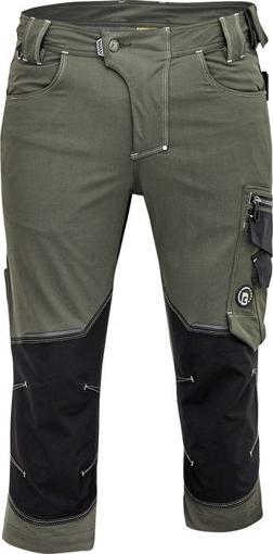 Obrázek z Cerva NEURUM PERFORMANCE Pracovní 3/4 kalhoty olivová
