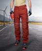 Obrázek z ARDON URBAN Pracovní kalhoty do pasu červené zkrácené