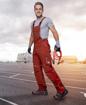 Obrázek z ARDON URBAN Pracovní kalhoty s laclem červené