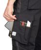 Obrázek z ARDON URBAN Pracovní kalhoty s laclem černo-šedé zkrácené