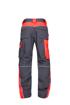 Obrázek z ARDON NEON Pracovní kalhoty do pasu šedo-červené