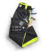 Obrázek z ARDON NEON Pracovní kalhoty do pasu černo-žluté zkrácené
