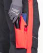 Obrázek z ARDON NEON Pracovní kalhoty do pasu šedo-červené zkrácené