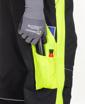 Obrázek z ARDON NEON Pracovní kalhoty s laclem černo-žluté