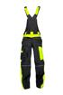 Obrázek z ARDON NEON Pracovní kalhoty s laclem černo-žluté zkrácené