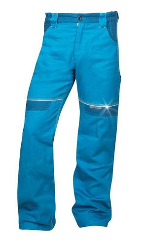 Obrázek z COOL TREND Pracovní kalhoty do pasu středně modré prodloužené