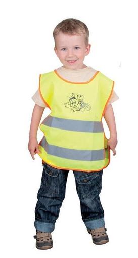 Obrázek z ARDON ALEX JUNIOR Dětská reflexní vesta žlutá