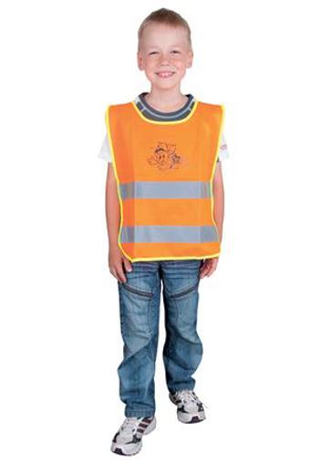 Obrázek z ARDON ALEX JUNIOR Dětská reflexní vesta oranžová