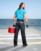 Obrázek z COOL TREND Pracovní kalhoty do pasu černé zkrácené