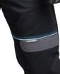 Obrázek z COOL TREND Pracovní kalhoty do pasu černé prodloužené