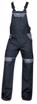 Obrázek z COOL TREND Pracovní kalhoty s laclem černé