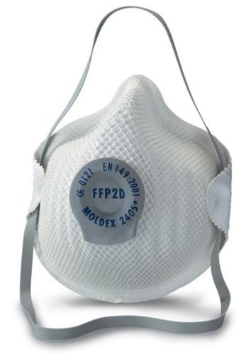 Obrázek z Moldex 2405 FFP2 Respirátor tvarovaný s ventilkem